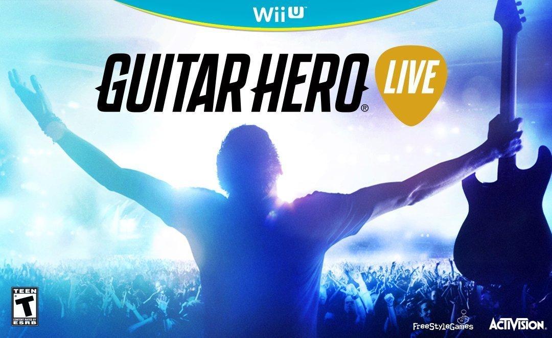 Amazon: Guitar Hero Live para Wii U a $650
