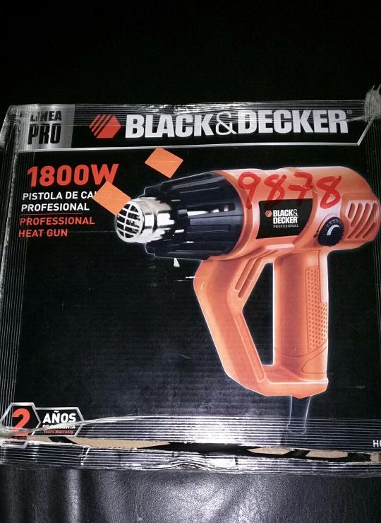 Walmart:  Pistola de calor B&D a $96.01
