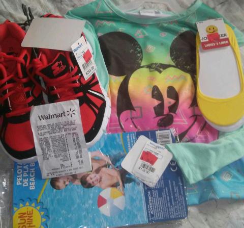 Walmart Córdoba: Artículos en liquidación desde $5.03, blusa, liner y más
