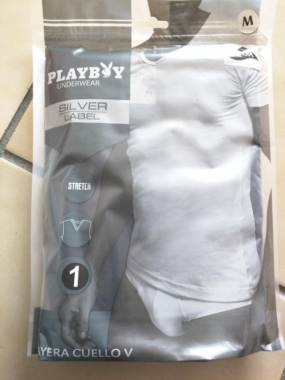 Chedraui Zaragoza DF: Playera Cuello V Playboy de $100 a $19.90 y más