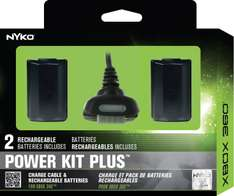 Amazon: Nyko Pro Power Kit, kit de carga para Xbox 360