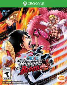 Amazon USA: One Piece Burning Blood para Xbox One a $25 dólares