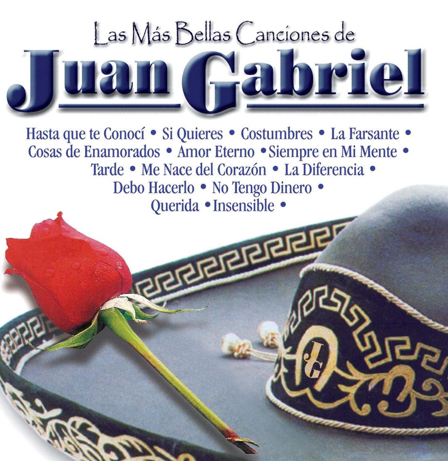 Amazon: CD Las Más Bellas Canciones de Juan Gabriel a $39 y más