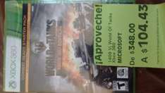 Bodega Comercial Mexicana: World of Tanks para Xbox 360 de $348 a $104