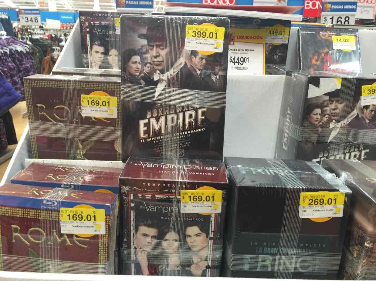 Walmart: Sets de series de TV en última liquidación