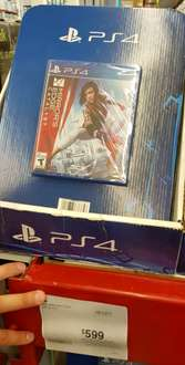 Sam's Club: Mirrors Egde Catalyst y UFC 2 para PS4 y ONE $599