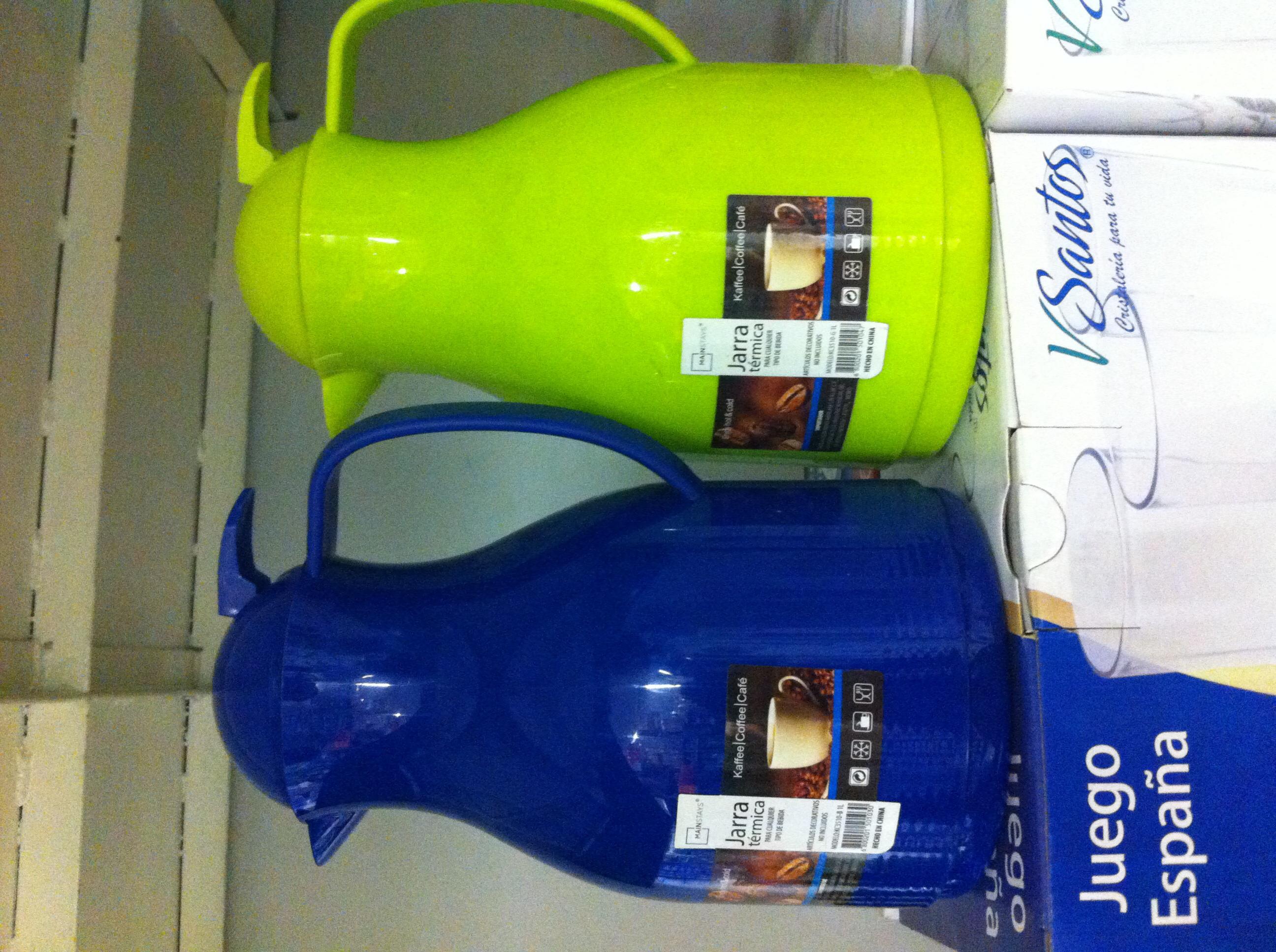 Bodega Aurrerá: jarra termica Mainstays a $55.02