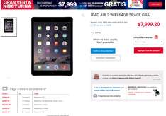 "office depot: Ipad Air 2 64gb + TV led 32"" 7999.20"
