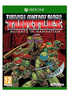 Amazon USA: Teenage Mutant Ninja Turtles: Mutants in Manhattan para Xbox One
