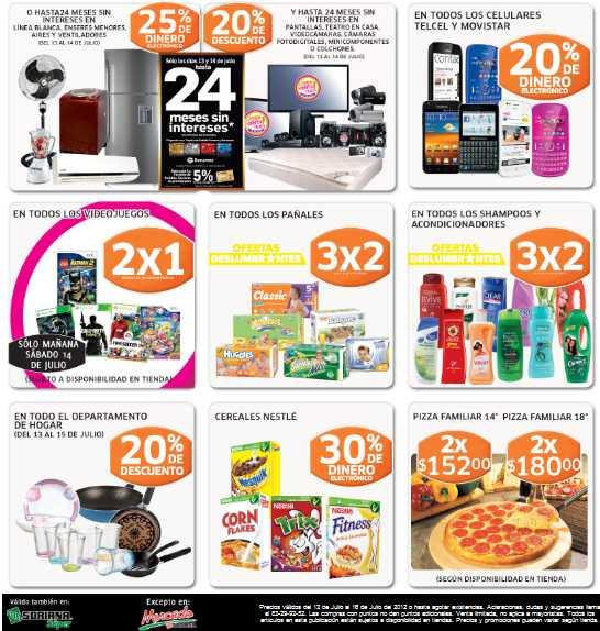 Soriana: 2x1 en todos los videojuegos, ofertas en línea blanca, colchones, electrónica y más