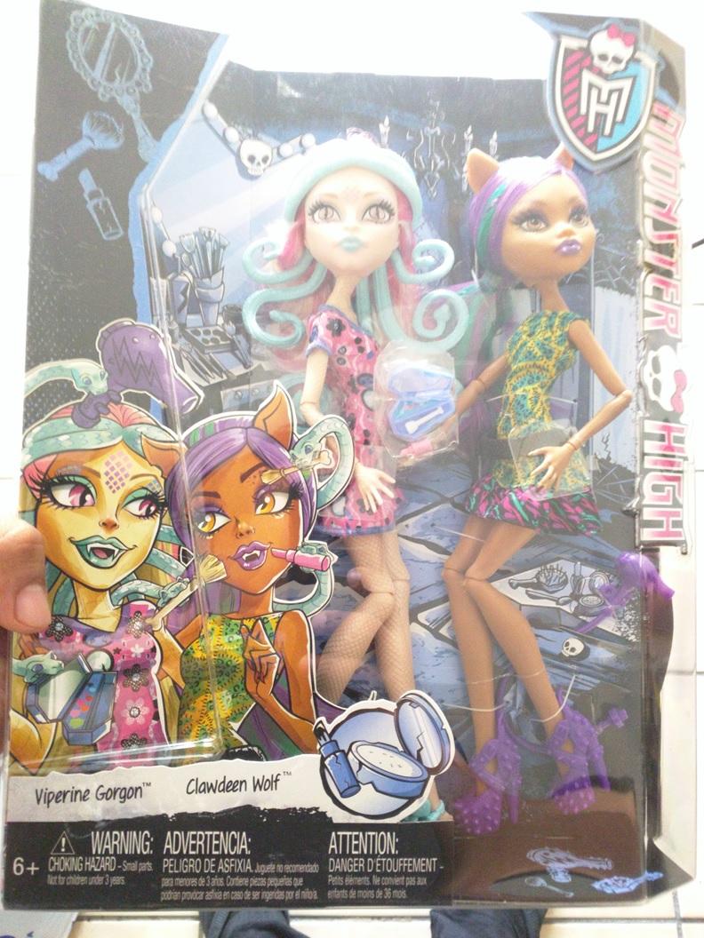 Chedraui Lomas Estrella: Monster High Estuche con 2 muñecas de $480 a $119 y más