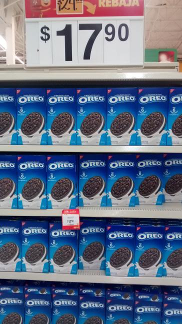 Walmart Domingo diez: caja de galletas Oreo a $16.45