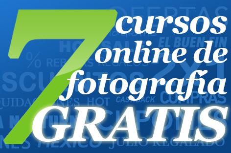 7 Cursos OnLine de Fotografía. GRATIS.