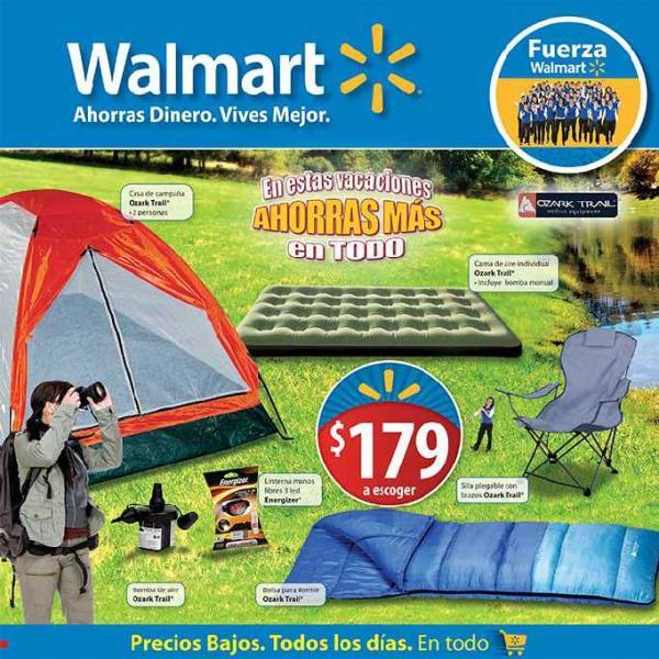 """Folleto Walmart julio 12: pantalla LCD 32"""" $3,799, cervezas gratis comprando whisky y más"""