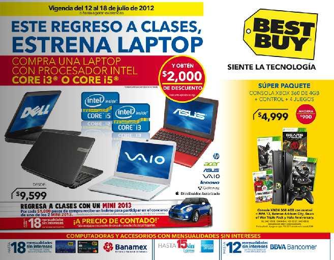 Best Buy: $2,000 de descuento en laptops con i3 o i5, 20% en cámaras Olympus y más