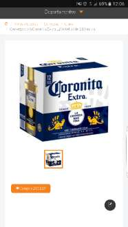 Superama: Carton Coronita Extra 12 botellas 210ml  2x$119