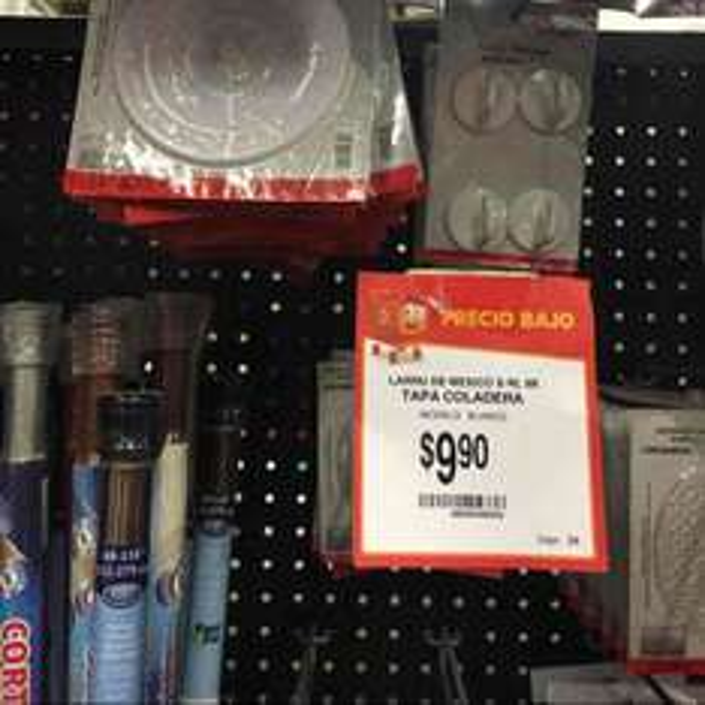 Walmart: Tapa de Coladera a $9.90