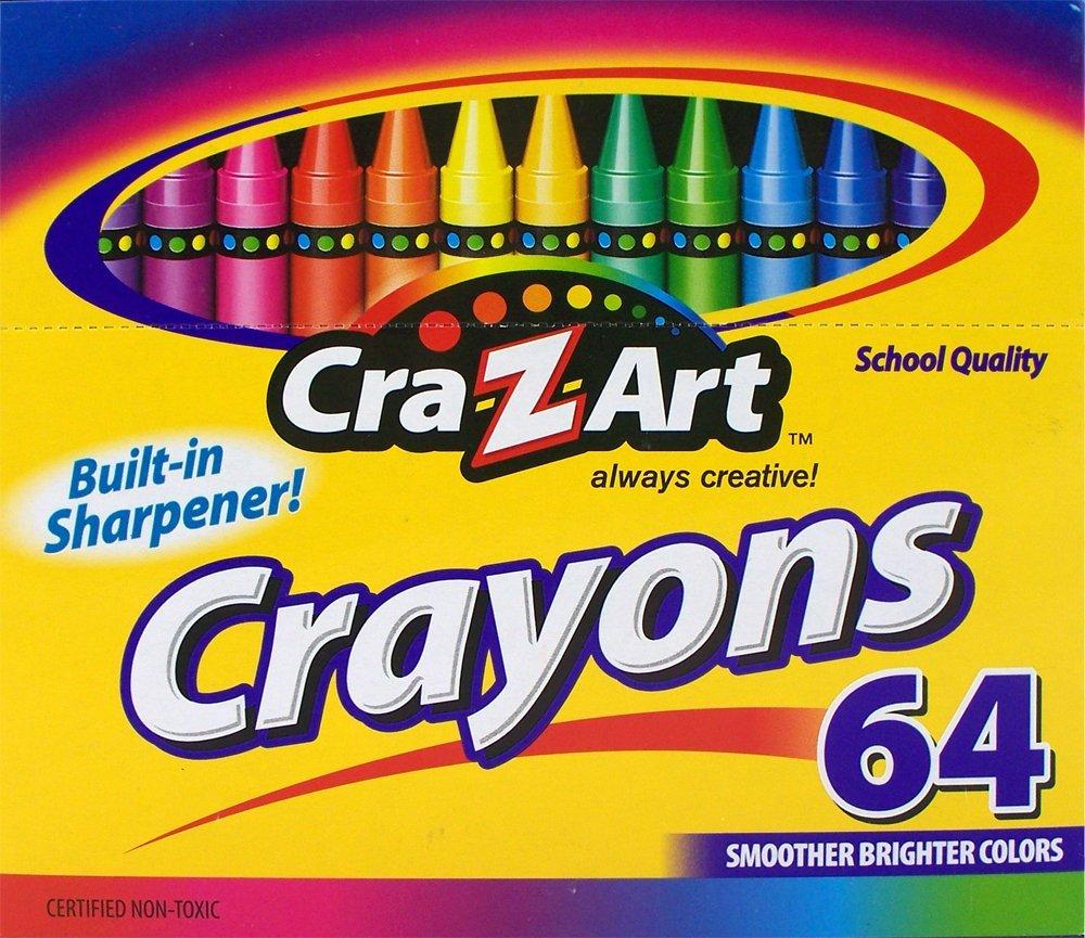Amazon MX: Crayones Cra-Z-art 64 crayones a $12.70