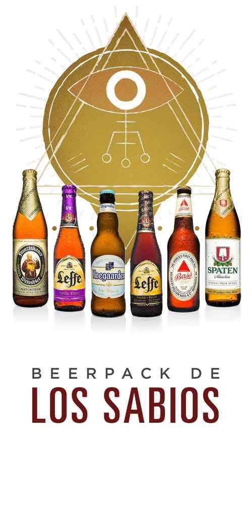 BeerHouse: BeerPack de los sabios o selección especial de modelo con envío gratis