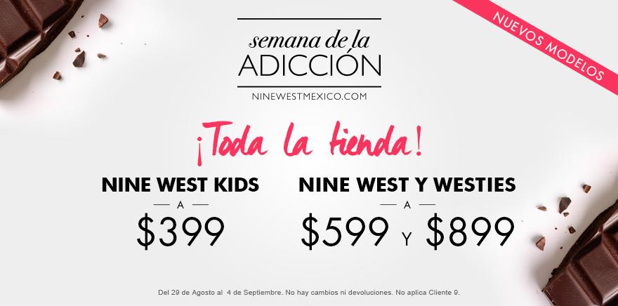 Nine West: Cupón para la Semana de la Adicción