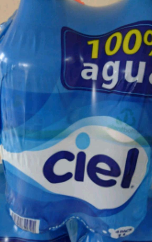 Soriana Palmas Poza Rica: Agua Ciel de 1 L.  $20°°  4 pack