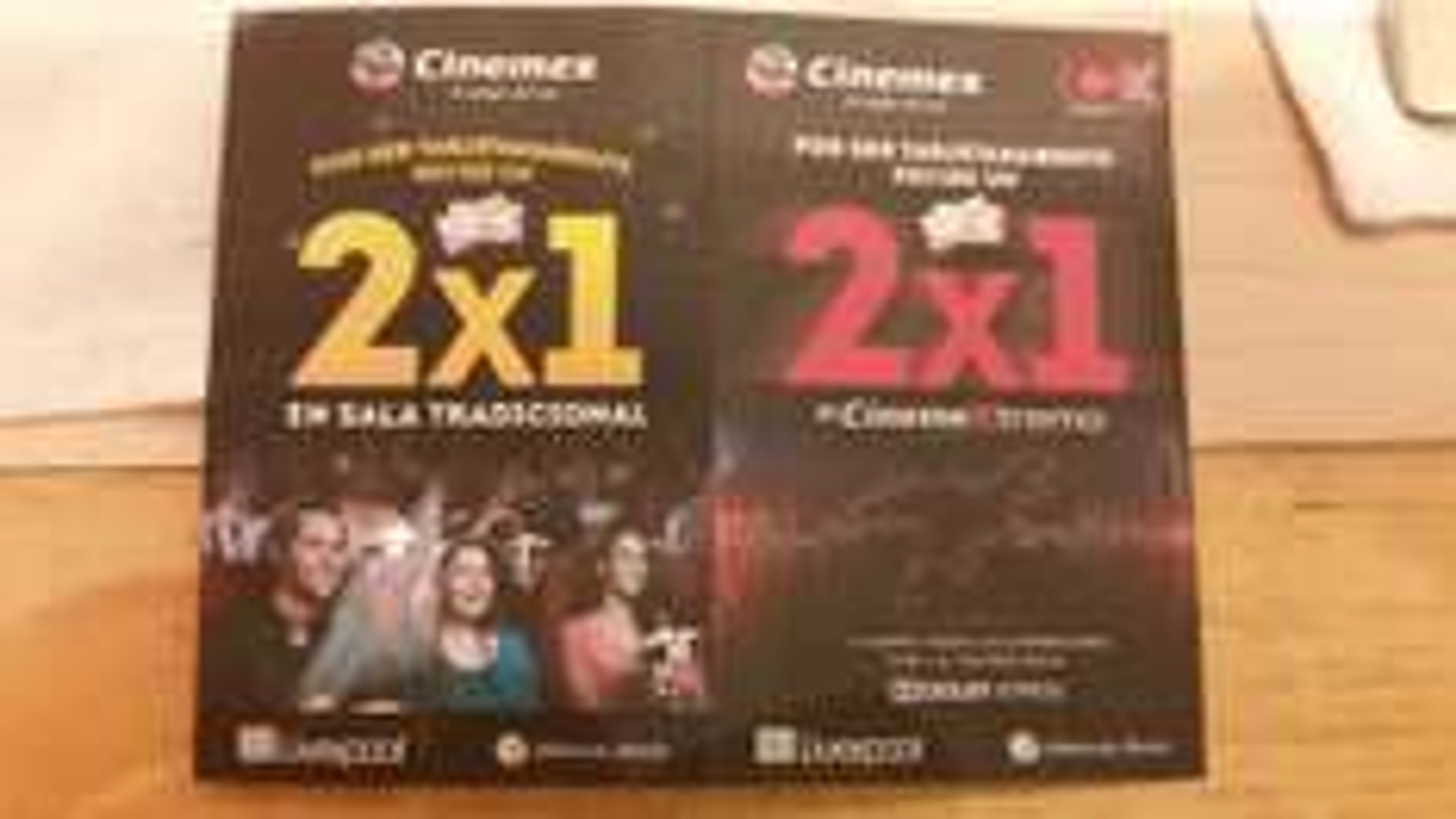 Cinemex 2x1 para tarjetahabientes Liverpool y Fábricas de Francia con cupón