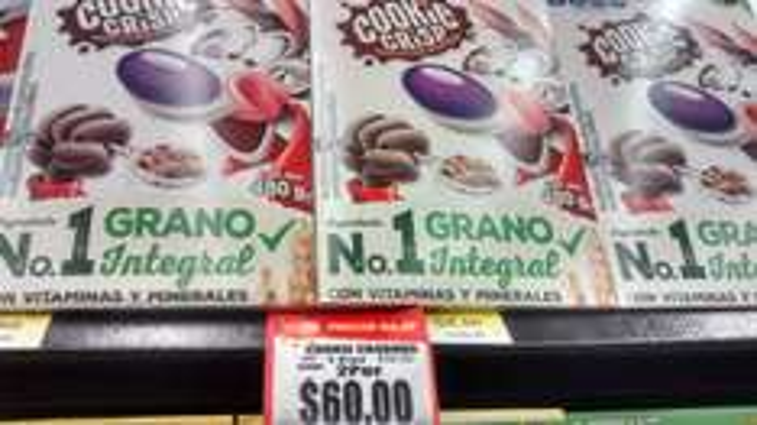 Walmart: Cereal cookiecrisp y trix 2x60 pesos