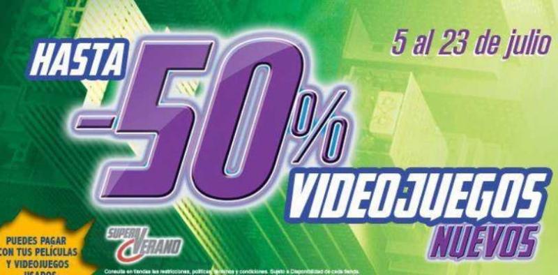 Blockbuster (Game Rush): hasta 50% de descuento en videojuegos seleccionados
