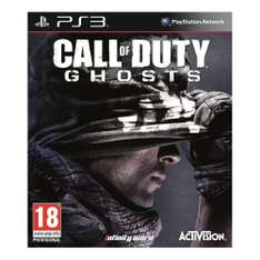 Sam's Club: Call of Duty Ghost PS3 a $98