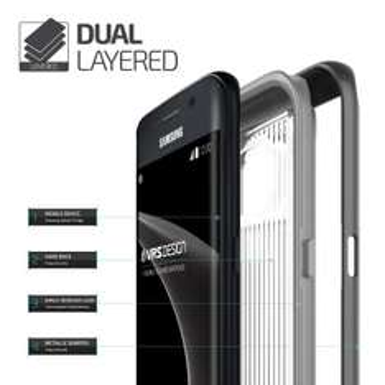 Amazon MX (Importación): Rebaja en Fundas para Galaxy S7 Edge/Flat, LG G5 -Ejem: VRS Design-Triple Mixx (Edge)