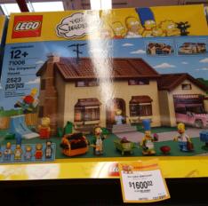 Waltmart: Lego Casa de los Simpson a $1,600.02