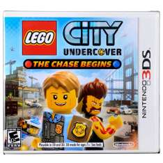 Walmart: Lego City Under Cover The Chase Begins Nintendo 3DS a $99