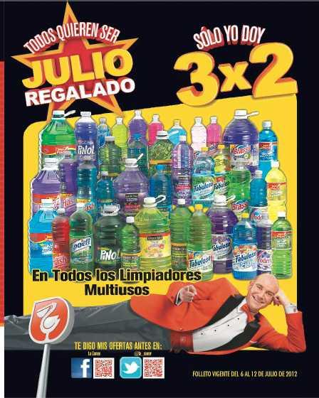 Folleto Julio Regalado julio 6: 2x1 en balones, 3x2 en jarciería, bonificación en laptops y más