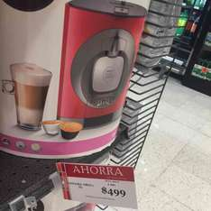 Soriana: cafetera dolce gusto oblo
