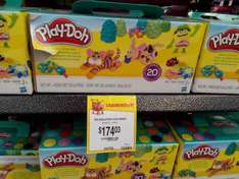 Walmart La Huerta. Segunda liquidacion Play Doh Paquete de 20 colores