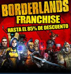 Steam: Borderlands Franchise Sale