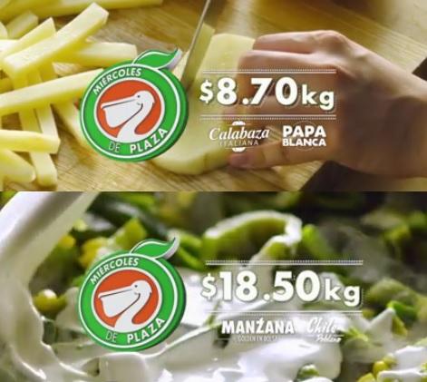 La Comer y Fresko: Miércoles de Plaza 07 Septiembre: Calabaza Italiana y Papa Blanca $8.70 kg; Manzana Golden Bolsa y Chile Poblano $18.50 kg