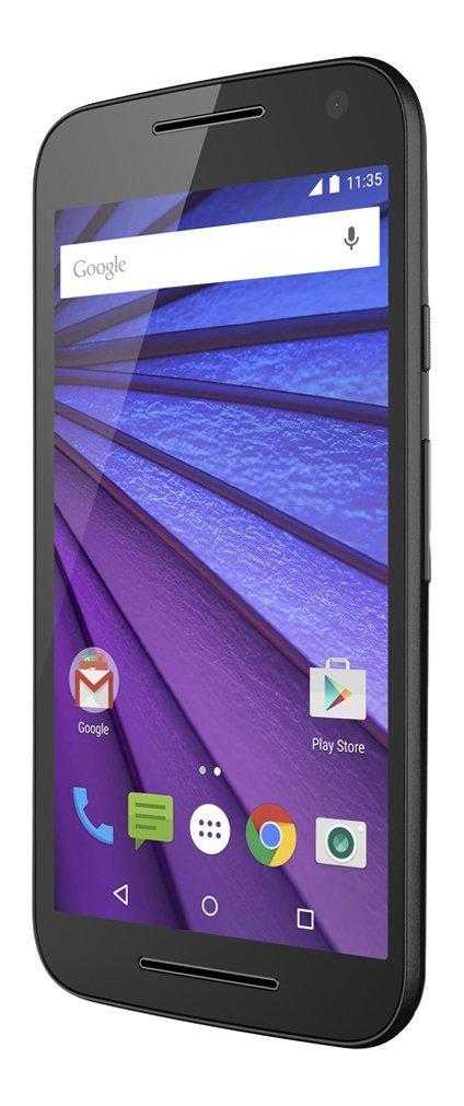 "Amazon: Moto G 3ra Generacion XT1543, 16Gb, 5"", Doble Sim Desbloqueado, color negro"