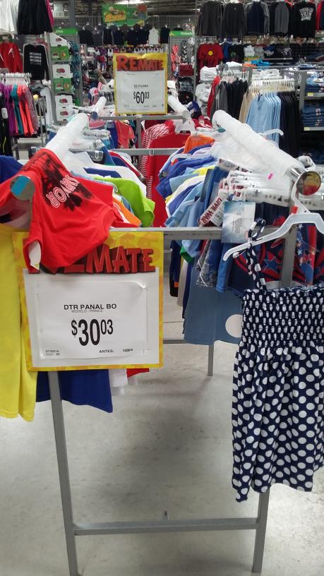 Bodega Aurrerá: Remate de ropa infantil desde $30