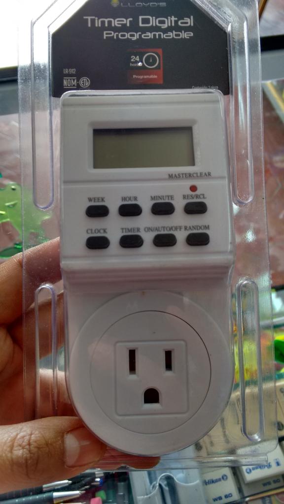 Walmart Macroplaza Oaxaca: Timer Digital Lloyd's a $33.01