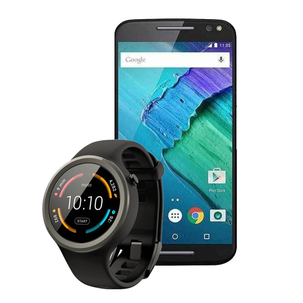Walmart en línea: Moto X Style + Smartwatch Moto 360 Sport a $7,999