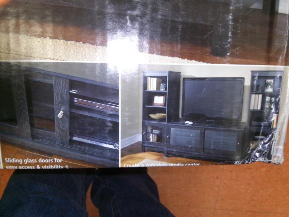 Walmart: Stand TV puertas corredizas a $1,049.01