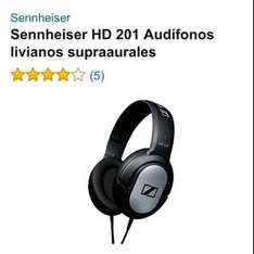 Amazon: Audífonos Sennheiser HD 201