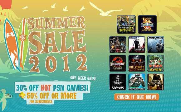 Ofertas de verano en la PlayStation Store