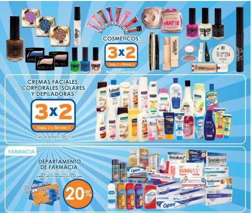 """Chedraui: 3x2 en cosméticos y cremas, 20% de descuento en farmacia, TV 46"""" $7,495 y más"""