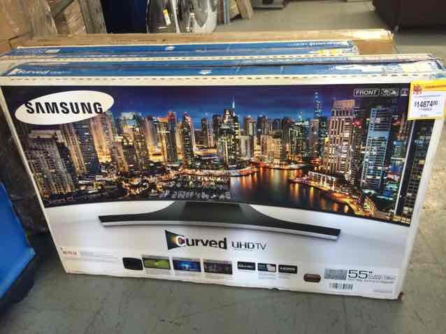 "Walmart: Samsung Curved UHD 55"" a $14,874"