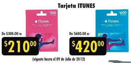 Julio Regalado en La Comer: 30% de descuento en tarjetas iTunes