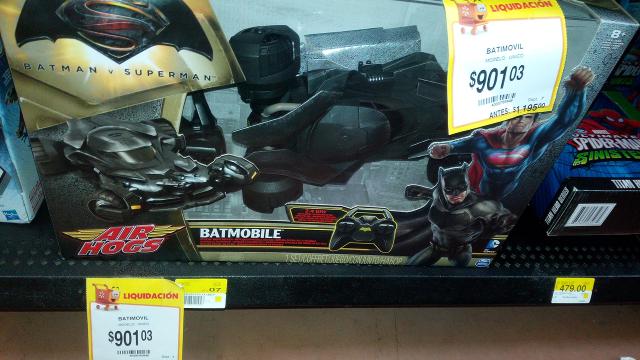 Walmart La Cima: Batimovil a $645.02