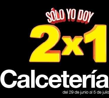 Julio Regalado junio 29: 2x1 en calcetería