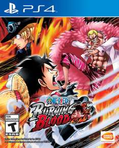 Amazon: One Piece Burning Blood para PS4 a $506